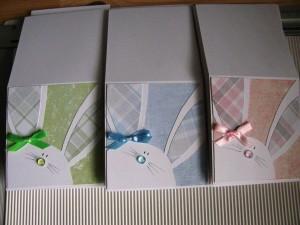 Zajączek Wielkanocny: kartka handmade na Wielkanoc