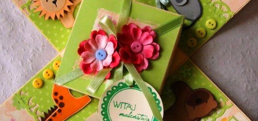 Narodziny dziecka - prezent handmade